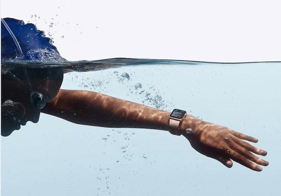 Apple Watch Series 3 зручно використовувати у басейні