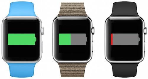 На сколько хватит батареи Apple Watch