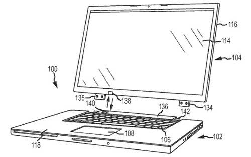 Новый патент Apple описывает ноутбук со съемным экраном
