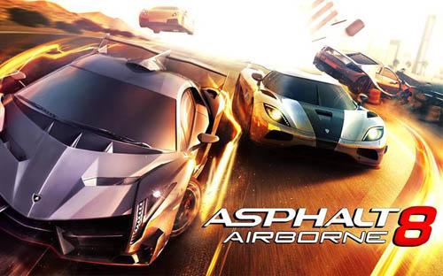 Asphalt 8: Airborne вышел на AppStore