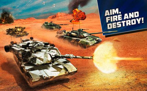 BOOM! Tanks — новый «танковый» экшен для iOS