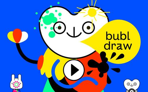 Bubl Draw: развивающее приложение для самых маленьких