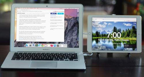 Duet Display – второй экран для Mac
