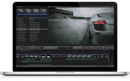Профессионалы видеомонтажа выбирают Final Cut Pro X