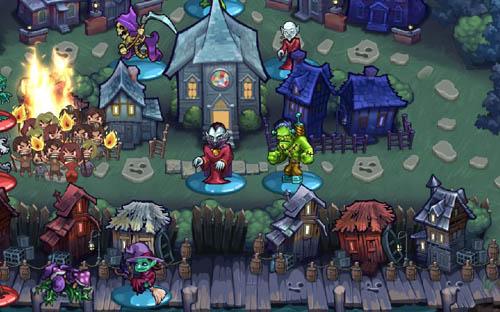 Haunted Hollow — стратегия для iOS от создателей «Цивилизации»