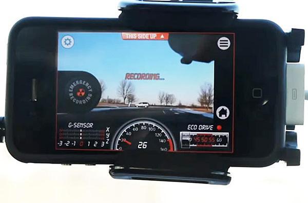 Дорожный помощник: Используем iPhone в качестве видеорегистратора