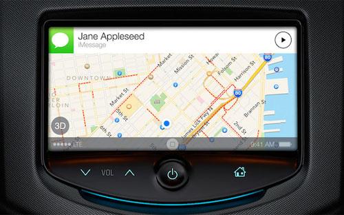 Энтузиаст показал прототип iOS in the Car