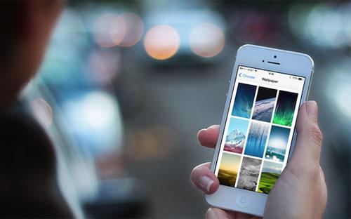 Здесь вы можете скачать новые обои iOS 7