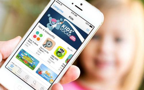 В AppStore появился новый раздел «Детский Мир»