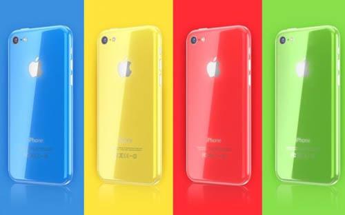 Первые iPhone 5C могут выйти в четырех разных цветах
