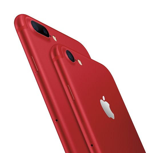 (PRODUCT) RED iPhone 7 та iPhone 7 Plus