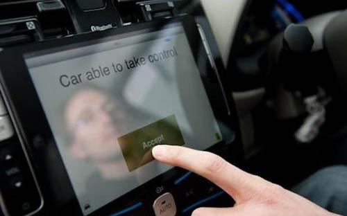 iPad как пульт управления «умным» автомобилем