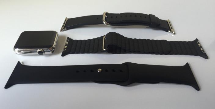 Модель Apple Watch и различные ремешки
