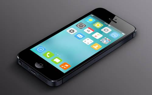 Первый взгляд на iOS 7