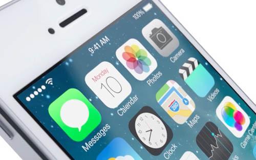 В третьей бете iOS 7 изменился шрифт и прочее