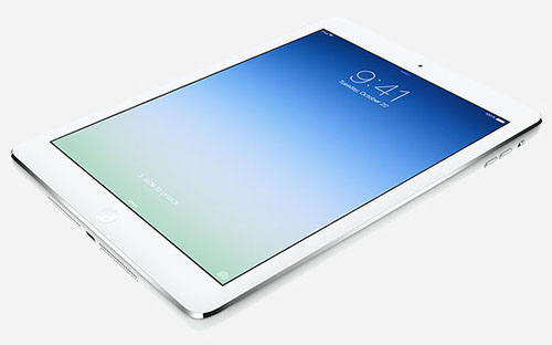 Фирменные обои iPad Air