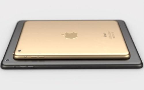 Посмотрите на отличный концепт золотого iPad mini 2