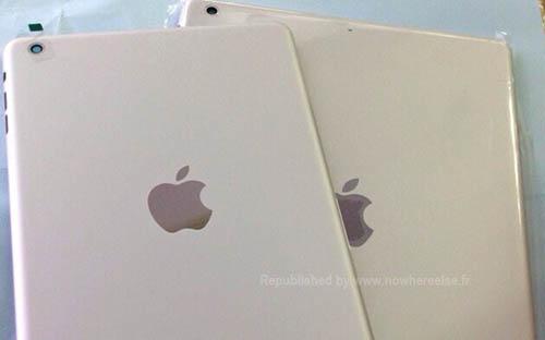 Появились фото задней крышки iPad 5 в серебристом цвете