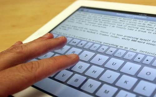 Почему я печатаю на iPad