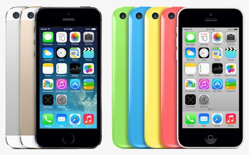 Спрос на iPhone 5S и 5C уже превышает таковой на iPhone 5