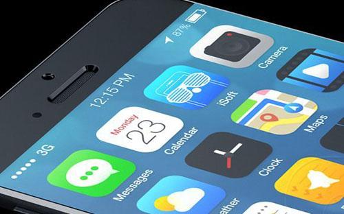 Отличный концепт iPhone 6 и iOS 8