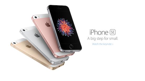 iPhone SE – большое обновление для маленького смартфона