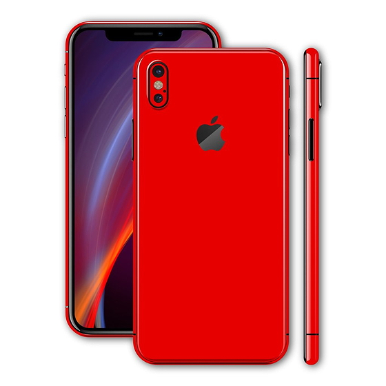 Концепт iPhone X Red