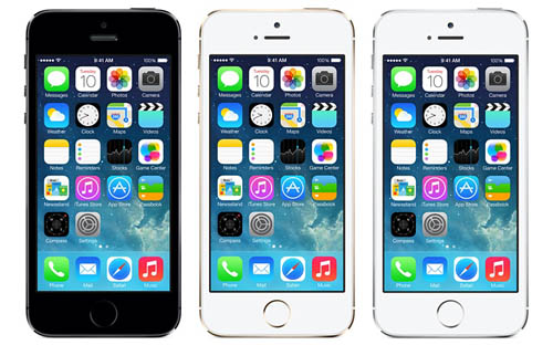 Apple официально представила iPhone 5S