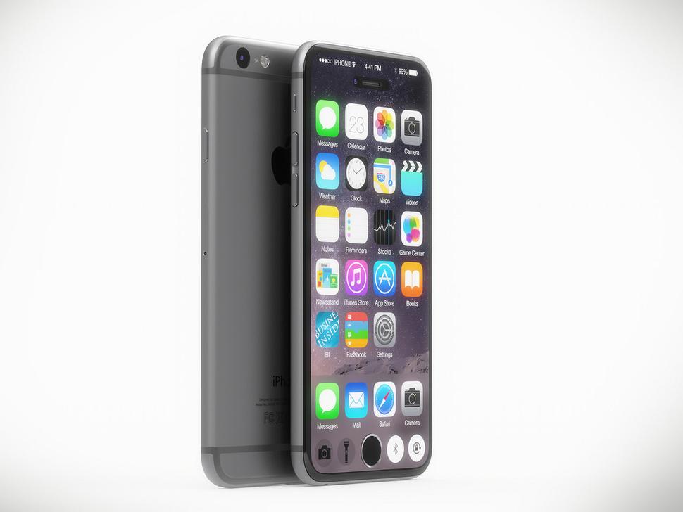 Варіант зовнішнього вигляду iPhone 7