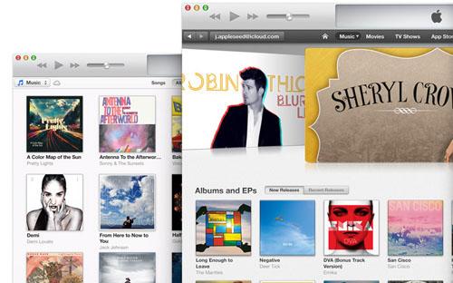 iTunes обновился до версии 11.1