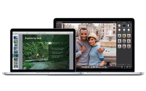 Обновилась линейка MacBook Pro Retina