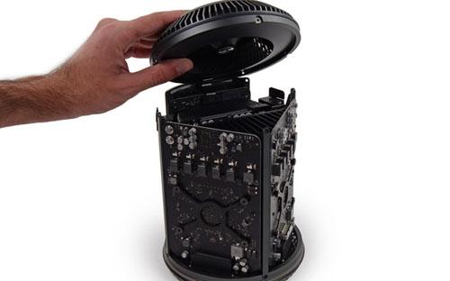 iFixit разобрал новый Mac Pro