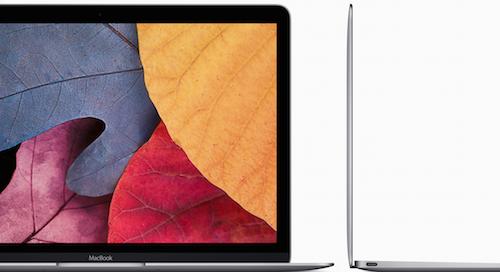 12-дюймовый Retina-экран нового MacBook