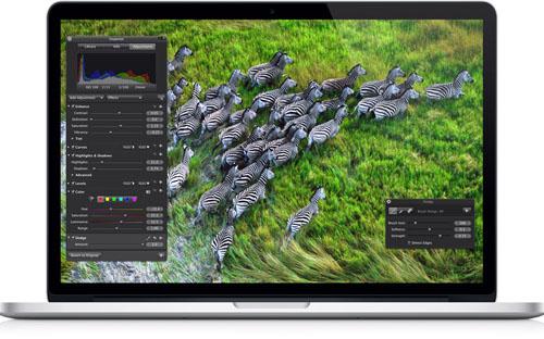 MacBook Pro с Retina стал еще быстрее и дешевле
