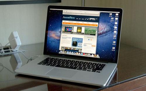Новый 15' MacBook Pro Retina показывают рекордную скорость работы SSD-диска