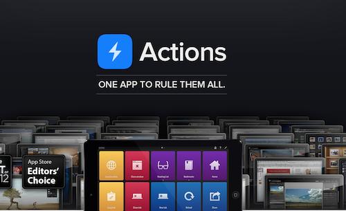 Actions – помощник для Mac