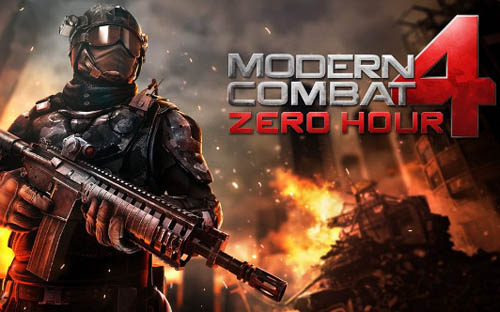 Modern Combat 4: Zero Hour продается на AppStore всего за $0.99