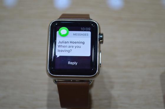 Так виглядає повідомлення на екрані Apple Watch
