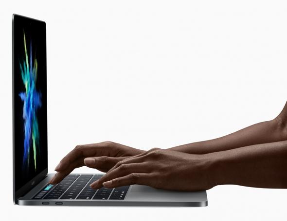 Новий MacBook Pro. Вид збоку.