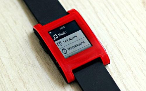 Pebble Smartwatch получили новое обновление прошивки
