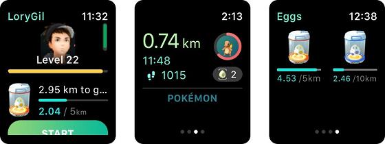 Ловити покемонів можна на Apple Watch