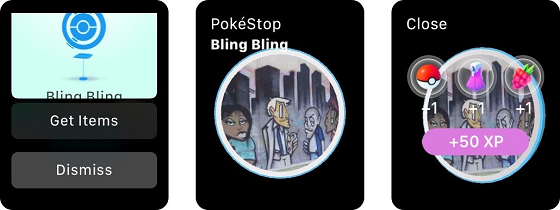 Можна не витягати айфон з кишені, якщо ви граєте у Pokémon Go на Apple Watch