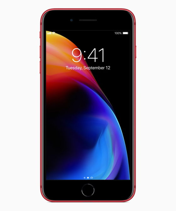 Чорний дисплей (PRODUCT) RED iPhone 8