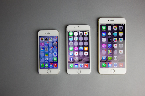 iPhone 5s, iPhone 6 и iPhone 6 Plus