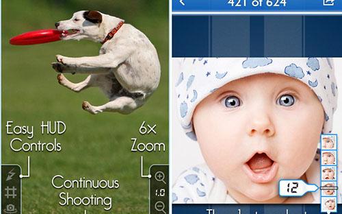 Apple купила разработчика приложения серийной съемки SnappyCam