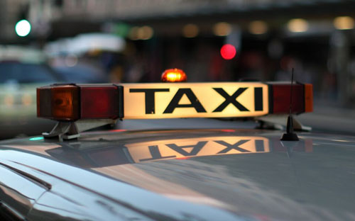 Вызов такси с iPhone