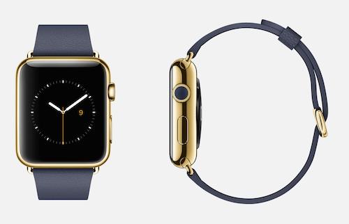 Золотые Apple Watch Edition