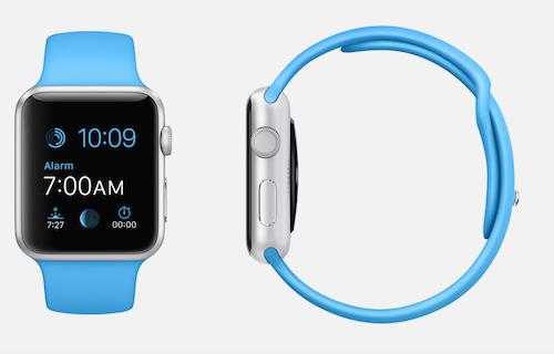 Алюминиевый корпус Apple Watch Sport