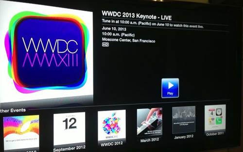 Вы можете посмотреть презентацию WWDC на своем Apple TV [Обновлено]