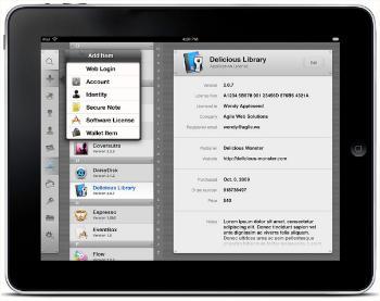 1Password появится на iPad